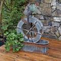 Water Wheel Planter - CTW Home Collection 770419