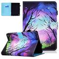 """Kindle Fire HD 8 Case 2020 Release, Kindle Fire HD 8 Plus 10th Generation Case, UGOcase PU Leather Auto Sleep Wake Up Folding Stand Cover with Pen Holder for 8"""" Display HD 8 Fire Tablet, Starry Deer"""