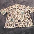 Ralph Lauren Shirts | Mens Ralph Lauren Button Up Short Sleeve Shirt Lar | Color: Brown/Cream | Size: L