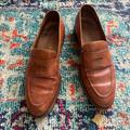 Polo By Ralph Lauren Shoes | Mens Polo Brown Loafers Size 8.5 | Color: Brown/Tan | Size: 8.5