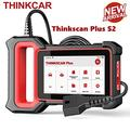 ThinkScan Plus S2 OBD2 Scanner Diagnostic Scan Tool for Car ABS/Airbag/Engine System, Code Reader with 28 Reset Functions(Choose 2 for Free), WiFi Free Update