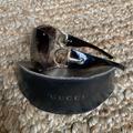 Gucci Accessories   Gucci Brown Gg 2764 Horsebit Shield Sunglasses   Color: Brown/Tan   Size: Os