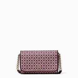 Kate Spade Bags   Kate Spade 'Spade Link' Flap Crossbody   Color: Purple/White   Size: Os