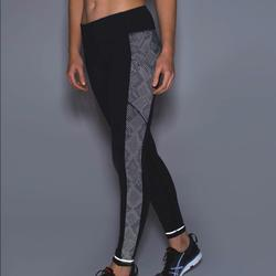 Lululemon Athletica Pants & Jumpsuits | Lululemon Speed Tight Ivravish Reptile Silver Blk | Color: Black/Silver | Size: 6