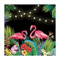 TROPICAL NIGHTS BACKDROP BANNER - Party Decor - 1 Piece