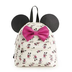 Disney's Mickey & Minnie Mouse Mini Backpack with 3D Ears, Multi