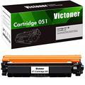 Victoner Compatible Toner Cartridge Replacement for Canon 051 051A Toner Cartridge for Canon ImageCLASS MF267dw MF269dw MF264dw LBP162dw Toner Printer(Black, 1 Pack)