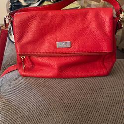 Kate Spade Bags | Kate Spade Jacks In Medium Flap Shoulder Bagg | Color: Red | Size: Medium