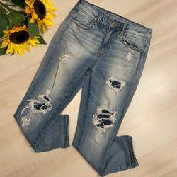 American Eagle Outfitters Jeans   American Eagle Hi Rise Jegging Crop Jeans Size 6   Color: Blue   Size: 6
