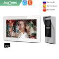 Jeatone – visiophone intelligent pour maison connectée avec écran de 7 pouces, interphone vidéo IP