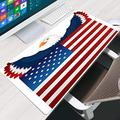 JIACHOZI Mouse pad XL America Animal Eagle Flag 700×300×3mm Personalized Design Mouse pad,Mouse Pads for Computers Extended Gaming Mouse Pad Long XXL Mousepad Computer Mouse pad