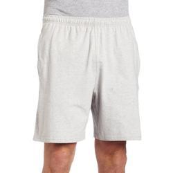 Reebok Men's Jersey Short,RBK Medium Grey Heather,X-Small