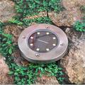 AdoDecor Solar Lights Solar LED Lawn Light Outdoor Lighting Ground Light Waterproof Buried Light Garden Landscape Lighting Channel 1ps