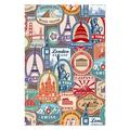 Teka Puzzle Puzzles Mixed - Travel Sticker Wooden 1,000-Piece Puzzle
