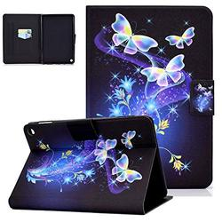 Kindle Fire HD 8 Case 10th Gen, Fire HD 8 Plus Tablet Case 2020, HD 8 2020 Cover, UGOcase Auto Sleep Wake Lightweight Thin Defender Soft TPU Back Case for Amazon Fire HD 8 / Plus, Fantasy Butterfly