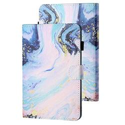Kindle Paperwhite E-Reader Case 10th Generation 2018, APOLL Premium PU Leather Auto Sleep Wake Shock Absorption Folio Slim Cute Smart Case Cover for 6 inch Kindle Paperwhite 1 2 3 4, Ocean Sand