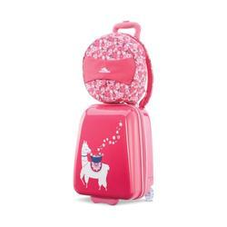High Sierra Pink Floral Teddy Buddy Travel Set