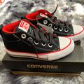 Converse Shoes   Casual Shoes For Toddler   Color: Black/Red   Size: 11b