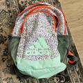 Adidas Accessories | Adidas Creator Youth Backpack | Color: Gray/Orange | Size: 14x9x19