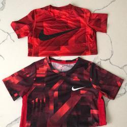 Nike Shirts & Tops   Nike Youth Boys Shirts   Color: Black/Red   Size: Youth Boys Medium
