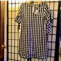 J. Crew Dresses | Nwt J Crew Gingham Summer Dress Women'S Size S | Color: Black | Size: S