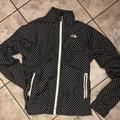 The North Face Jackets & Coats   Black & White Polka Dot North Face Windbreaker   Color: Black/White   Size: M