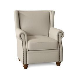 Omnia Leather Dixon Club Chair Leather/Genuine Leather in Brown, Size 43.0 H x 37.0 W x 41.0 D in | Wayfair Dixon Chair-11005-Urb Cedar-Chocolate