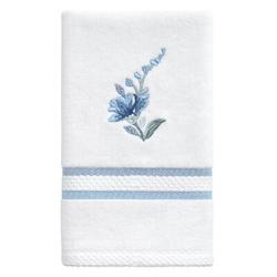 Ophelia & Co. Moe Garden View 100% Cotton Hand Towel Terry Cloth/100% Cotton in Blue, Size 1.0 H in   Wayfair 58C20ACD0A0E4AA1ABE66131CAE20155