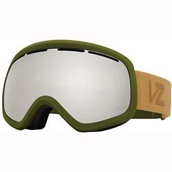 VonZipper Skylab W/Bonus Lens Mens Goggles Sin Olive Satin/Wildlife Silver Chrome Lens