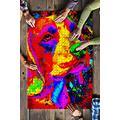 Lux Puzzles -Beagle Watercolor Art Jigsaw Puzzles-Puzzles for Adults 1000 Pieces (Multi-Color, 1000 Pieces)
