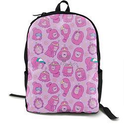 Casual Classic Backpack Princess-Bubblegum Shoulder Backpacks Packable Bags Bookbag Backpack Travel Hiking Camping Daypack Backpack for Men/Women