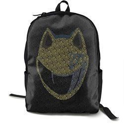 Casual Classic Backpack Durarara Shoulder Backpacks Waterproof Bags Laptop Backpack Travel Hiking Camping Daypack Backpack for Men/Women