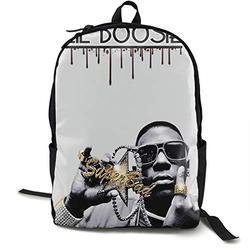 Casual Classic Backpack Lil Boosie Shoulder Backpacks Waterproof Bags Student Backpack Travel Hiking Camping Daypack Backpack for Men/Women