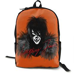 Casual Classic Backpack Creepypa-sta Shoulder Backpacks Packable Bags Student Backpack Travel Hiking Camping Daypack Backpack for Men/Women