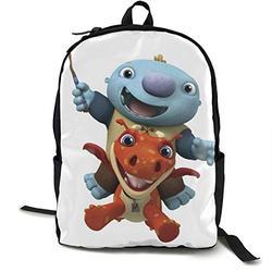 Casual Classic Backpack Wallykazam! Shoulder Backpacks Packable Bags Bookbag Backpack Travel Hiking Camping Daypack Backpack for Men/Women