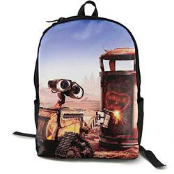 Casual Classic Backpack W-a-l-l·E Shoulder Backpacks Packable Bags Business Backpack Travel Hiking Camping Daypack Backpack for Men/Women