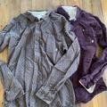 Vans Shirts   Mens Lot Of 2 Vans Linen Button Down Shirts Large   Color: Gray   Size: L