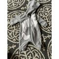 Nike One Pieces | Nike Boy Long Sleeve Gray Romper One Piece Nike Sw | Color: Gray | Size: 0-3mb