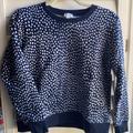 J. Crew Tops | J Crew Crew Neck Sweatshirt. | Color: Blue/White | Size: S
