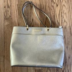 Michael Kors Bags   Good Michael Kors Tote Bag Nwot   Color: Gold/Red   Size: Medium Sized Bag