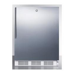 Summit FF7LWBISSHVADA 24 Inch 5.5 Cu. Ft. Wide Refrigerator Stainless Steel
