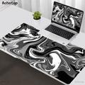 Grand tapis de souris Art Strata Liquid, ordinateur de bureau, pour clavier PC, XXL