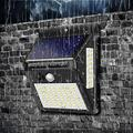 AdoDecor Solar Light LED Solar Light Outdoor Solar Lamp PIR Motion Sensor Solar Powered Street Porch Path Sunlight for Garden Decoration