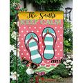 "Customized Garden Flag,12.5"" x 18"" Twin Printed,Waterproof Polyester,Without Flagpole,Garden Well Bless Yer Heart, Personalized Yard Sign Flag for Garden Decor."