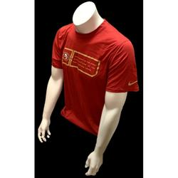 Nike Shirts   Nike Dri Fit Men'S San Francisco 49ers Red T Shirt   Color: Red   Size: S