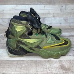 Nike Shoes   Nike Lebron 13 All Star Game Basketball Shoes 10   Color: Green   Size: 10