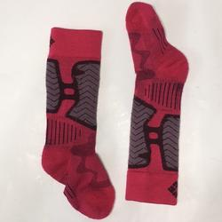 Columbia Accessories   Girls Columbia Ski Socks   Color: Gray/Pink   Size: Osg