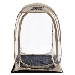 Alvantor Leedor Sports Tent Weather Pod Pop Up Bubble Tent Shelter Fishing Tent Fiberglass in Brown, Size 61.2 H x 45.6 W x 45.6 D in | Wayfair