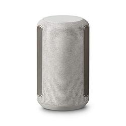 Sony SRS-RA3000 360 Reality Audio Premium Wireless Speaker with Wi-Fi, Bluetooth, Wireless Streaming, Chromecast Built-in, Works with Google Assistant, Silver