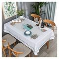 Tablecloth Table Cloth, and Oil-Proof PVC Tea Table Cloth Table Mat Table Cloth Table Cloth Household Easy to Clean Table Cloth (Color : 3#, Size : 120170cm)